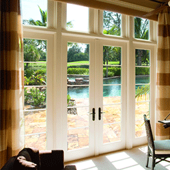architect series patio door hinged doors with sidelights and transom